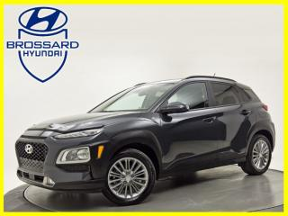 Used 2020 Hyundai KONA AWD LUXURY NAV TOIT OUVRANT CUIR CAM DE RECUL for sale in Brossard, QC