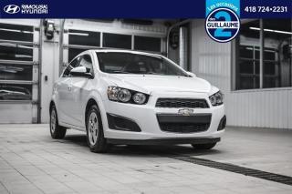 Used 2015 Chevrolet Sonic LS chez Rimouski Hyundai for sale in Rimouski, QC