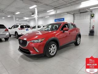 Used 2016 Mazda CX-3 GS.L - CAMERA + CUIR + JAMAIS ACCIDENTE !!! for sale in St-Eustache, QC