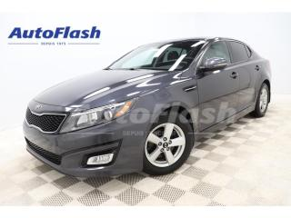 Used 2015 Kia Optima *LX *MAGS *BLUETOOTH *CRUISE *A/C for sale in St-Hubert, QC