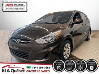 Used 2015 Hyundai Accent ** GL *AC * SIEGES CHAUFFANTS * CRUISE * for sale in Québec, QC