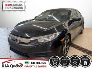 Used 2016 Honda Civic ** LX ** AC * CRUISE *SIEGES CHAUFFANTS for sale in Québec, QC