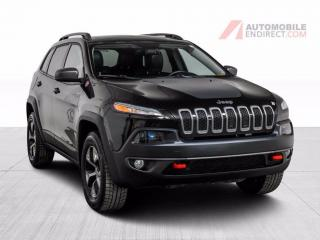 Used 2016 Jeep Cherokee TRAILHAWK AWD V6 CUIR TOIT PANO MAGS NAV for sale in St-Hubert, QC
