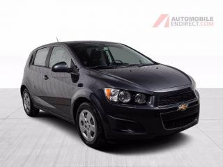 Used 2016 Chevrolet Sonic LS Hatchback A/C Bluetooth for sale in St-Hubert, QC