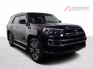 Used 2015 Toyota 4Runner Limited AWD A/C Mags Cuir Toit GPS Caméra for sale in St-Hubert, QC