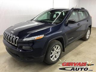Used 2014 Jeep Cherokee Sport 4x4 Ensemble Temps Froid for sale in Shawinigan, QC
