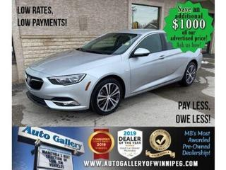 Used 2019 Buick Regal Preferred* Bluetooth/Reverse Camera/CLEAN CARFAX for sale in Winnipeg, MB
