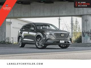 Used 2021 Mazda CX-9 GS-L AWD  Third Row Seats/ Sunroof/ Leather/ AWD for sale in Surrey, BC