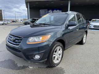 Used 2010 Hyundai Santa Fe AWD,V6,Limited,A/C,CUIR,TOIT,MAGS,BANCS CHAUFF++ for sale in Mirabel, QC