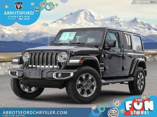 New 2021 Jeep Wrangler Sahara Unlimited  - Leather Seats - $414 B/W for sale in Abbotsford, BC
