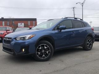 Used 2018 Subaru XV Crosstrek Sport CVT avec ensemble EyeSight for sale in Trois-Rivières, QC