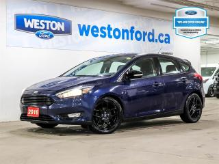 Used 2016 Ford Focus SE+CAMERA+CRUISE CONTROL+POWER POINTS+CERTIFIED for sale in Toronto, ON