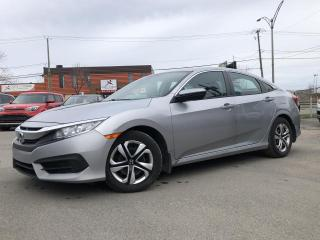 Used 2016 Honda Civic LX + 4 portes CVT for sale in Trois-Rivières, QC