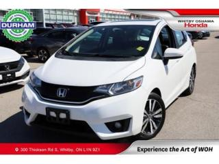 Used 2017 Honda Fit EX-L w/Navigation | CVT | Power Moonroof for sale in Whitby, ON