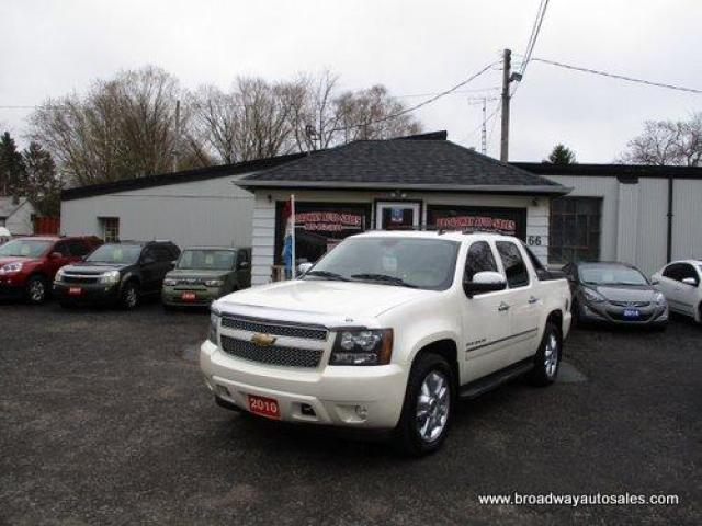 2010 Chevrolet Avalanche GREAT KM'S LTZ EDITION 5 PASSENGER 5.3L - VORTEC.. 4X4.. CREW-CAB.. SHORTY.. NAVIGATION.. POWER SUNROOF.. LEATHER.. HEATED/AC SEATS.. BACK-UP CAMERA..