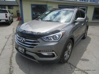Used 2017 Hyundai Santa Fe ALL-WHEEL DRIVE SPORT-LIMITED-EDITION 5 PASSENGER 2.0L - TURBO.. NAVIGATION.. LEATHER.. HEATED/AC SEATS.. PANORAMIC SUNROOF.. BACK-UP CAMERA.. for sale in Bradford, ON
