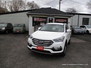 Used 2017 Hyundai Santa Fe ALL-WHEEL DRIVE SPORT MODEL 5 PASSENGER 2.4L - DOHC.. HEATED SEATS.. BACK-UP CAMERA.. BLUETOOTH SYSTEM.. AUX/USB CONNECTION.. KEYLESS ENTRY.. for sale in Bradford, ON