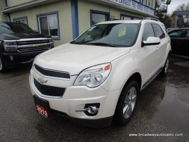 2012 Chevrolet Equinox LOADED 2-LT EDITION 5 PASSENGER 2.4L - ECO-TEC.. ECO-BOOST-PACKAGE.. LEATHER.. HEATED SEATS.. BACK-UP CAMERA.. POWER SUNROOF.. BLUETOOTH SYSTEM..