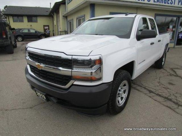 "2019 Chevrolet Silverado 1500 GREAT KM'S LS MODEL 6 PASSENGER 5.3L - VORTEC.. 4X4.. QUAD-CAB.. 6.6"" FOOT-BOX.. TRAILER BRAKE.. BACK-UP CAMERA.. BLUETOOTH SYSTEM.. KEYLESS ENTRY.."