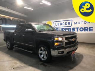 Used 2014 Chevrolet Silverado 1500 LTZ Crew Cab Z71 Off Road 4X4 5.3L V8 * Navigation * Leather * DVD * 20 inch Chrome Alloys * Remote Start * Heated & Cooled Seats * Rear Sliding Glass for sale in Cambridge, ON
