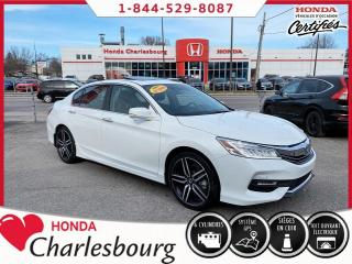 Used 2017 Honda Accord TOURING V6 **31 457 KM** for sale in Charlesbourg, QC
