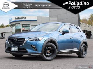 Used 2019 Mazda CX-3 GT - ONE OWNER - NO ACCIDENTS - DEALER SERVICED for sale in Sudbury, ON