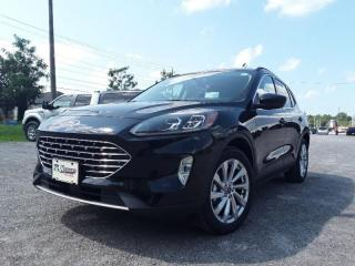 New 2021 Ford Escape Titanium Hybrid for sale in Peterborough, ON