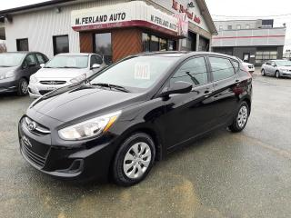 Used 2017 Hyundai Accent Voiture à hayon, 5 portes, boîte manuell for sale in Sherbrooke, QC