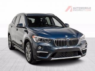 Used 2016 BMW X1 SPORTPACK X DRIVE CUIR TOIT PANO CAMERA DE RECUL M for sale in Île-Perrot, QC