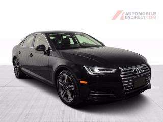 Used 2017 Audi A4 TECHNIK QUATTRO CUIR NAV MAGS for sale in Île-Perrot, QC