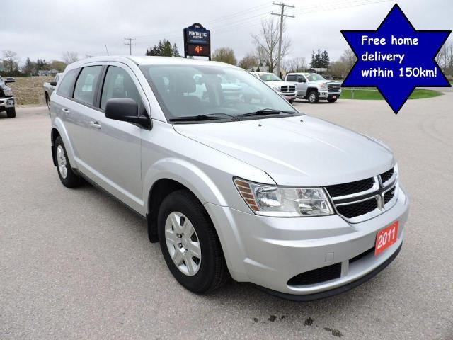 2011 Dodge Journey Canada Value Pkg Well oiled Local trade 125000 km