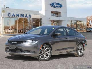 Used 2015 Chrysler 200 S for sale in Carman, MB