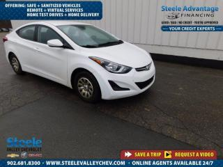 Used 2015 Hyundai Elantra GL-ALLOYS AUTO A/C LOW LOW PAYMENT!!! for sale in Kentville, NS