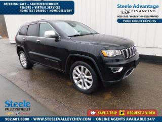Used 2017 Jeep Grand Cherokee Limited-Dealer maintain-One owner-Must see-FRESH ARRIVAL for sale in Kentville, NS
