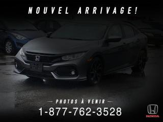 Used 2017 Honda Civic SPORT + AUTO + A/C + CAMERA + MAGS + WOW for sale in St-Basile-le-Grand, QC