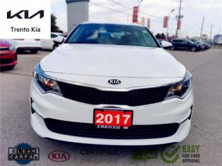 Used 2017 Kia Optima LX Hted Seats &SW Alloys Bluetooth USB CPO  for sale in North York, ON