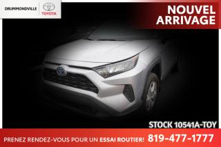 Used 2021 Toyota RAV4 HYBRID| BAS KILO| COMME NEUF for sale in Drummondville, QC