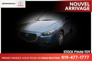 Used 2019 Mazda CX-3 GS| INTÉGRALE| VOLANT CHAUFFANT for sale in Drummondville, QC