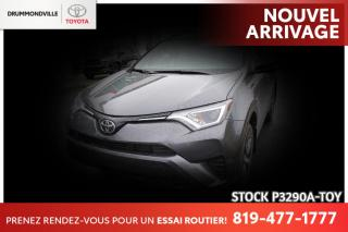 Used 2018 Toyota RAV4 MAGS| SIÈGES CHAUFFANTS| SAFETY SENSE for sale in Drummondville, QC