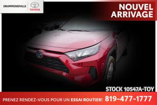 Used 2020 Toyota RAV4 HYBRID| BAS KILO| COMME NEUF for sale in Drummondville, QC
