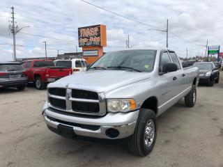 Used 2005 Dodge Ram 2500 SLT**5.9 CUMMINS DIESEL**4X4**QUAD CAB**LONG BOX** for sale in London, ON