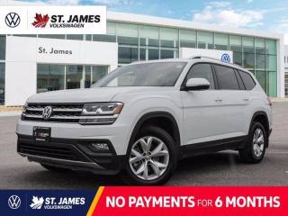 Used 2018 Volkswagen Atlas Comfortline, Local One Owner, Backup Camera, Apple CarPlay for sale in Winnipeg, MB