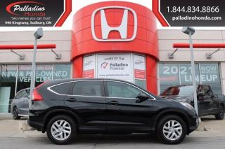 Used 2015 Honda CR-V EX - BLIND SPOT CAMERA COMFORTABLE CLOTH SEATS - for sale in Sudbury, ON