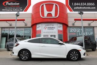 Used 2016 Honda Civic COUPE LX - FUN TO DRIVE MANUAL COUPE - for sale in Sudbury, ON