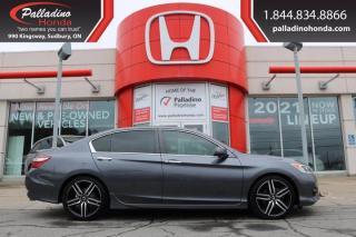 Used 2016 Honda Accord Sedan Sport - MOST RELIABLE FULL SIZE SEDAN - for sale in Sudbury, ON