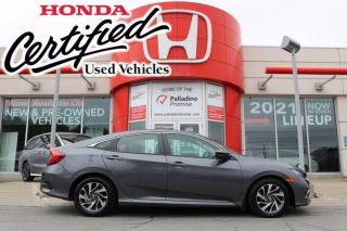 Used 2019 Honda Civic Sedan EX - HONDA CERTIFIED - RATES STARTING @ 3.69% OAC - for sale in Sudbury, ON