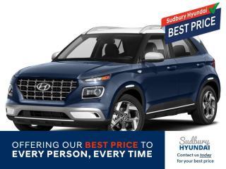 New 2021 Hyundai Venue Ultimate w/Denim Interior (IVT) for sale in Sudbury, ON