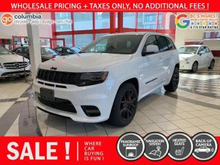 Used 2020 Jeep Grand Cherokee SRT - Nav / Pano Sunroof / No Dealer Fees for sale in Richmond, BC