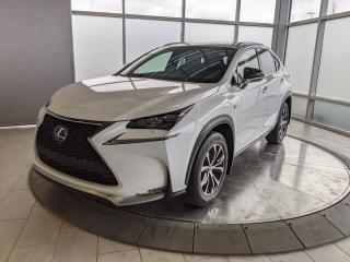 Used 2017 Lexus NX 200t F-SPORT - ONE OWNER! for sale in Edmonton, AB