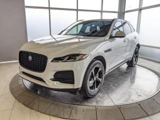 New 2021 Jaguar F-PACE ACTIVE COURTESY VEHICLE for sale in Edmonton, AB
